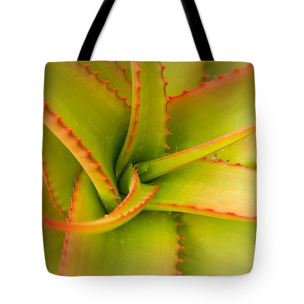 Jagged Aloe Tote Bag