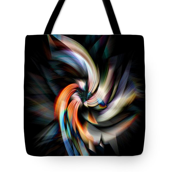 Jagged Twirl Tote Bag