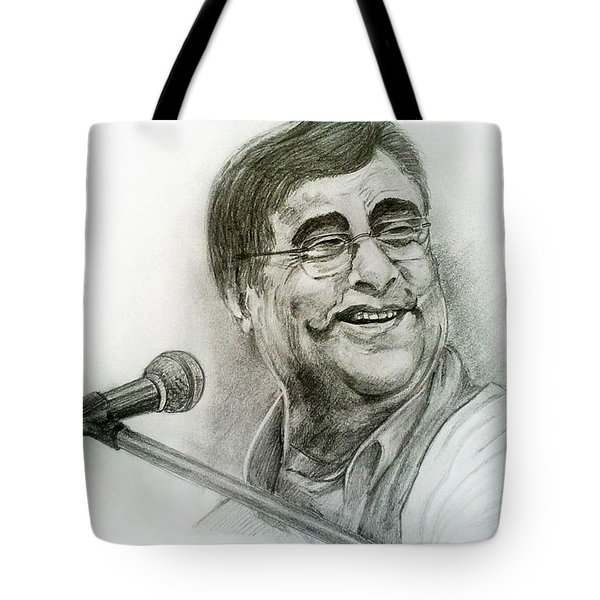 Jagjit Singh Tote Bag by Mayur Sharma