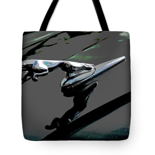 Jaguar Tote Bag by Cindy Manero