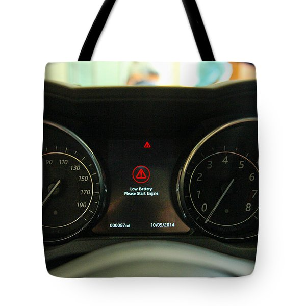 Tote Bag featuring the photograph Jaguar Dash by Robert Hebert