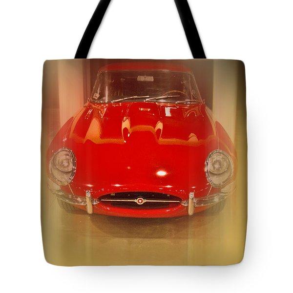 Jaguar E-type 1960s Tote Bag