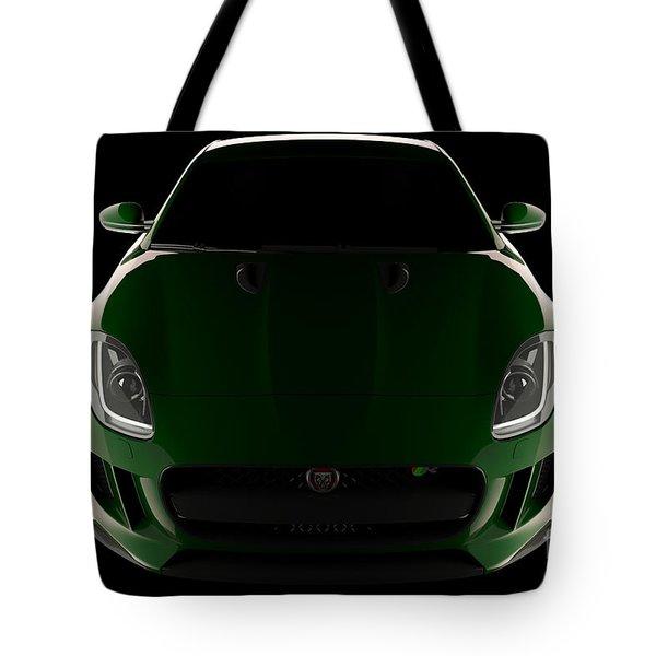 Jaguar F-type - Front View Tote Bag