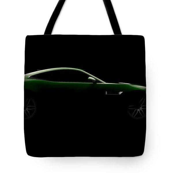 Jaguar F-type - Side View Tote Bag