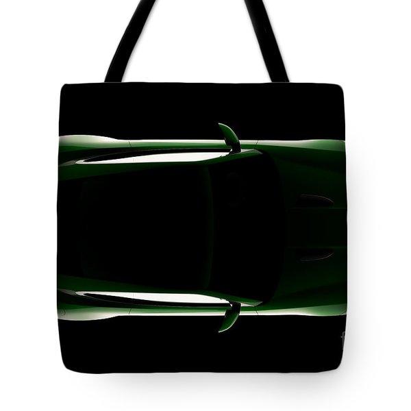Jaguar F-type - Top View Tote Bag