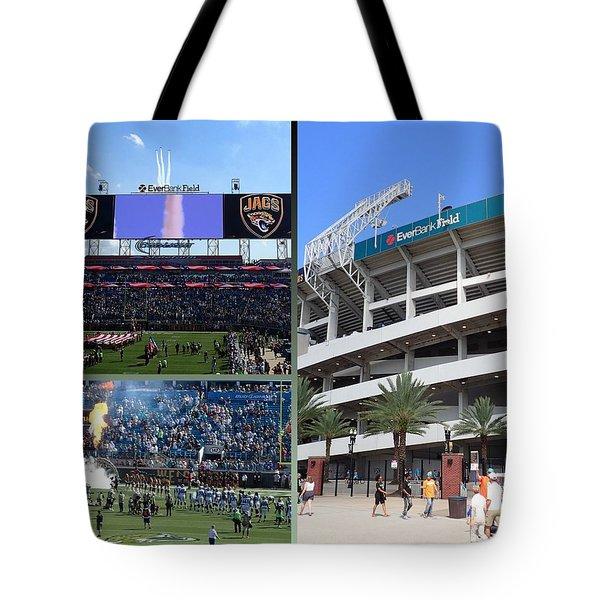 Jaguar Football Tote Bag