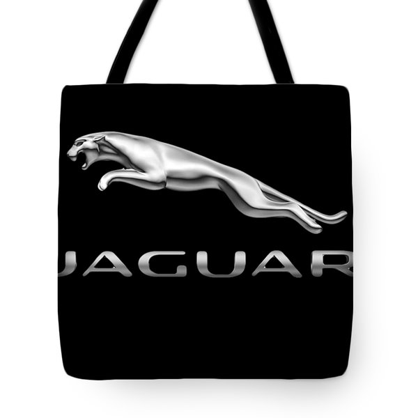 Jaguar Logo Tote Bag