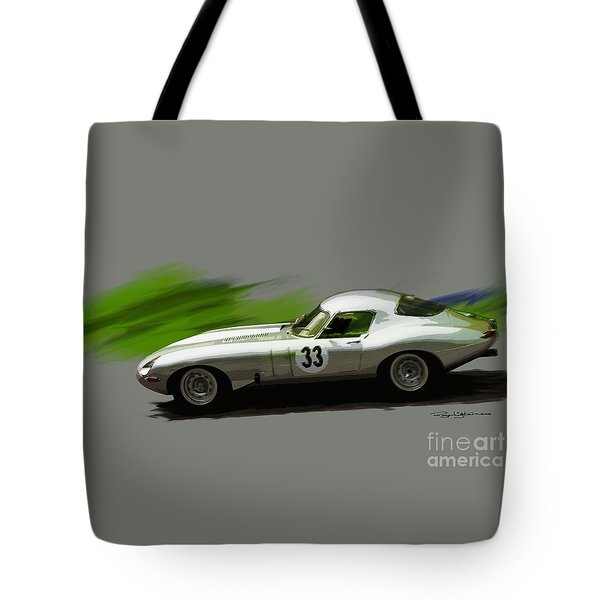 Jaguar Racing Tote Bag