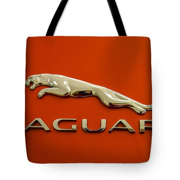 Tote Bag featuring the photograph Jaguar by Robert Hebert