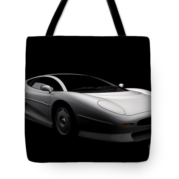Jaguar Xj220 Tote Bag