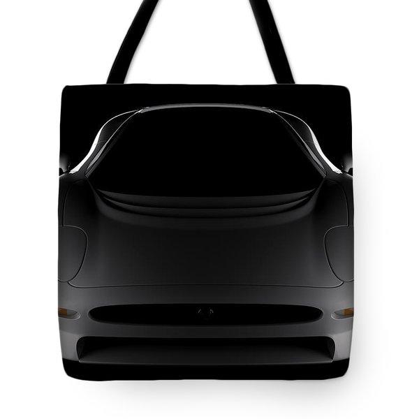 Jaguar Xj220 - Front View Tote Bag