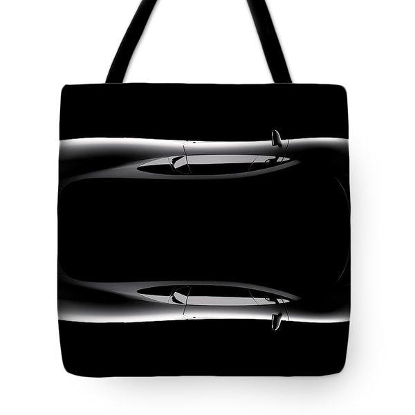 Jaguar Xj220 - Top View Tote Bag