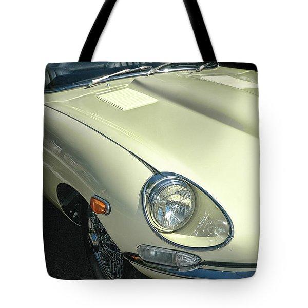 Jaguar Xke Roadster Tote Bag