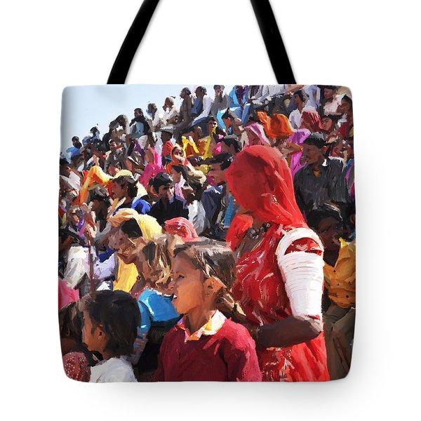 Jaisalmer Desert Festival-10 Tote Bag