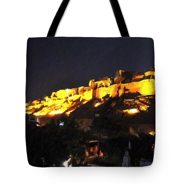 Jaisalmer Desert Festival-3 Tote Bag