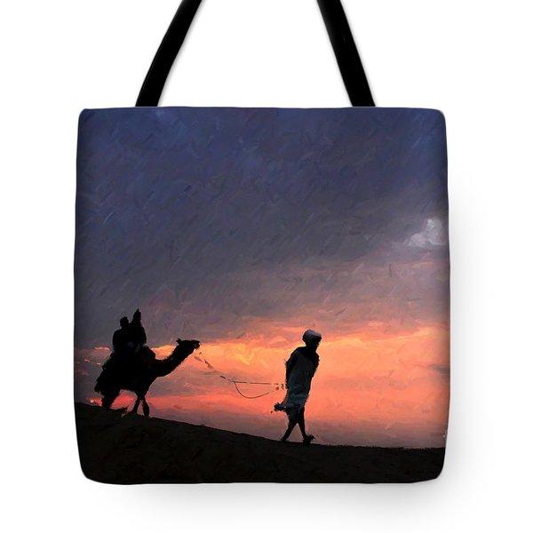 Jaisalmer Desert Festival-6 Tote Bag
