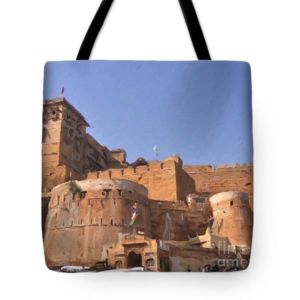 Jaisalmer Desert Festival-9 Tote Bag
