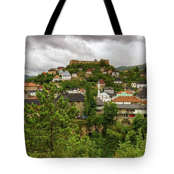 Jajce, Bosnia And Herzegovina Tote Bag by Elenarts - Elena Duvernay photo