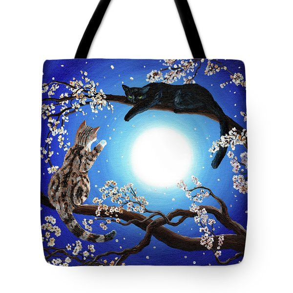 Jake And Sasha Tote Bag by Laura Iverson