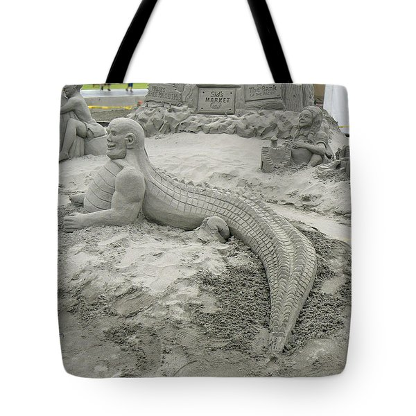 Jake The Alligator Man  Tote Bag by Pamela Patch
