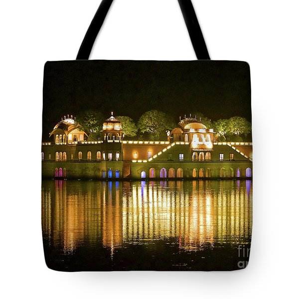 Jal Palace At Night Tote Bag