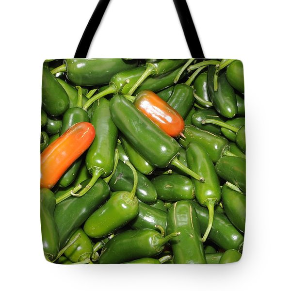 Jalapeno Peppers Tote Bag