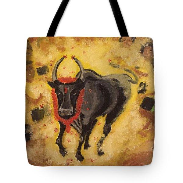Jallikattu Tote Bag