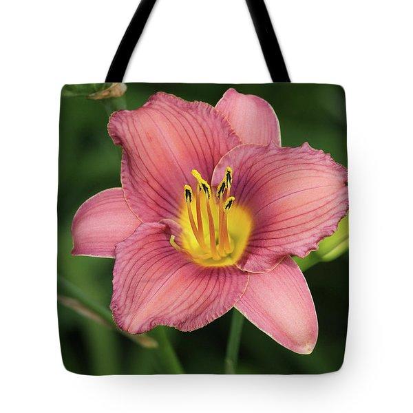 Jamaica Sunrise Daylily Tote Bag