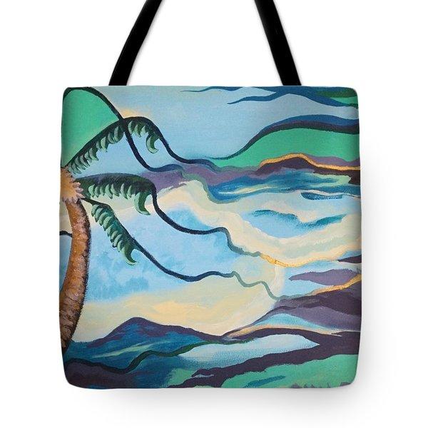 Jamaican Sea Breeze Tote Bag