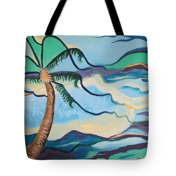 Jamaican Sea Breeze Tote Bag by Jan Steinle