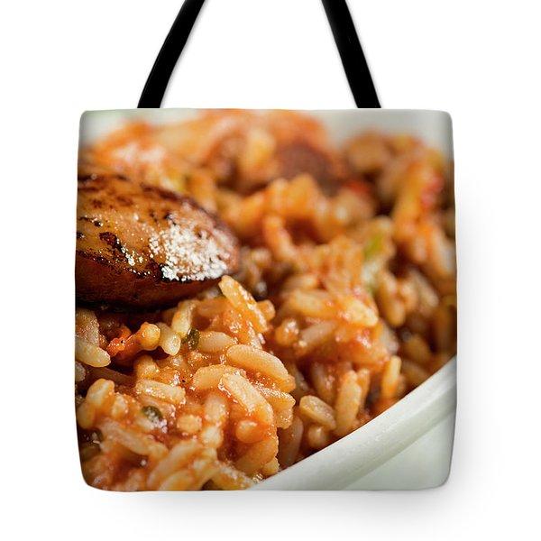 Jambalaya Tote Bag