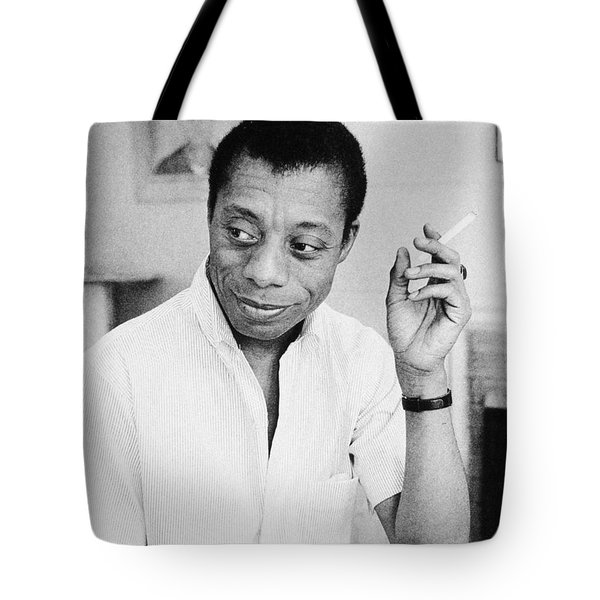 James Baldwin (1924-1987) Tote Bag