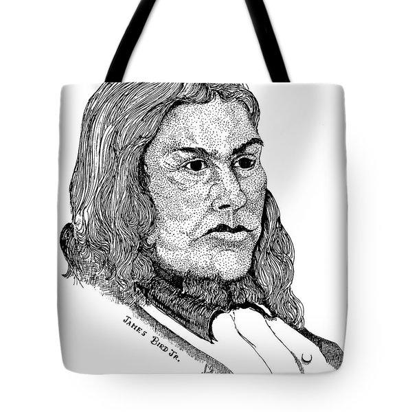 James Bird Jr Tote Bag