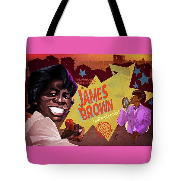 James Brown Tote Bag