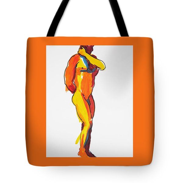 James Classic Pose Tote Bag