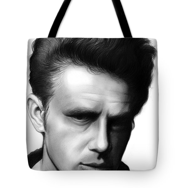 James Dean Tote Bag by Greg Joens