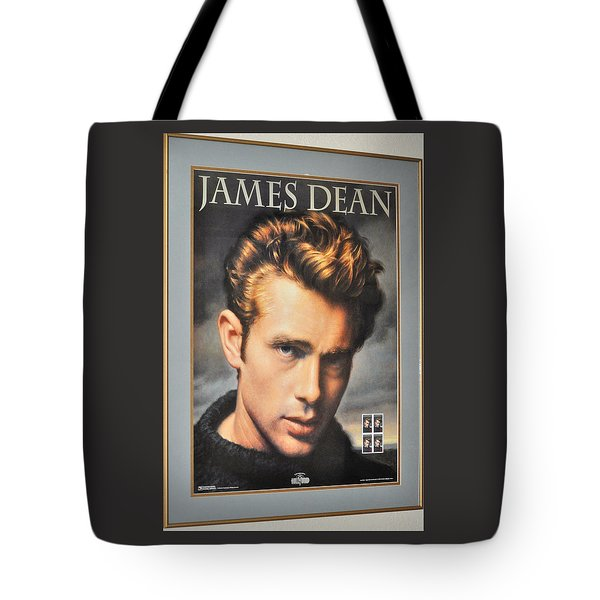 James Dean Hollywood Legend Tote Bag
