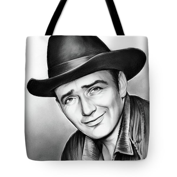 James Drury Tote Bag