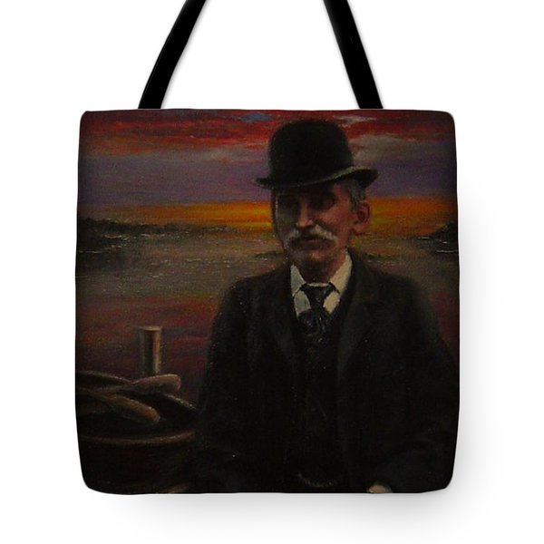 James E. Bayles Sunset Years Tote Bag