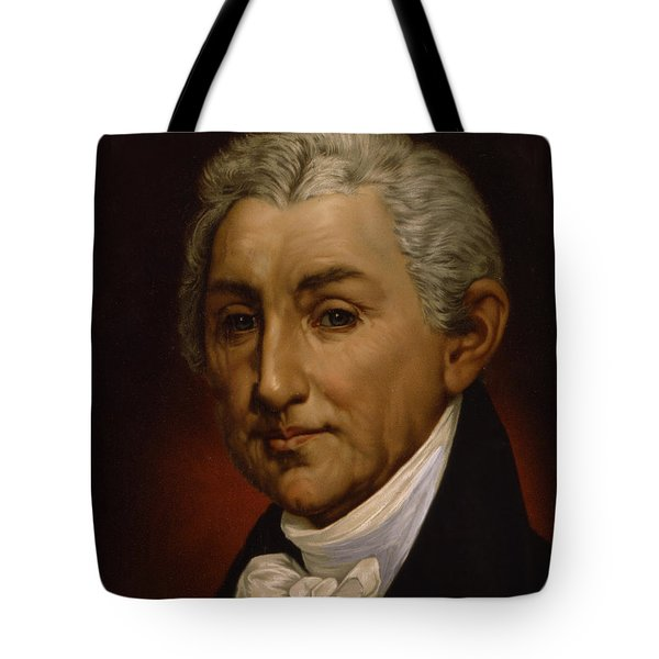 James Monroe - President Of The United States Of America Tote Bag