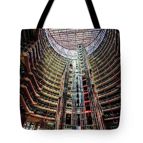 James R Thompson Center Interior Chicago Tote Bag