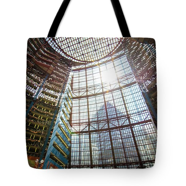James R Thompson Center Interior II Chicago Tote Bag