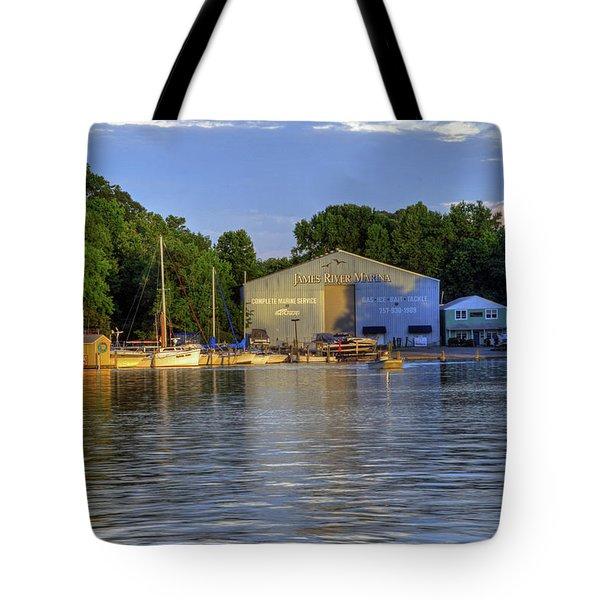 James River Marina 2 Tote Bag