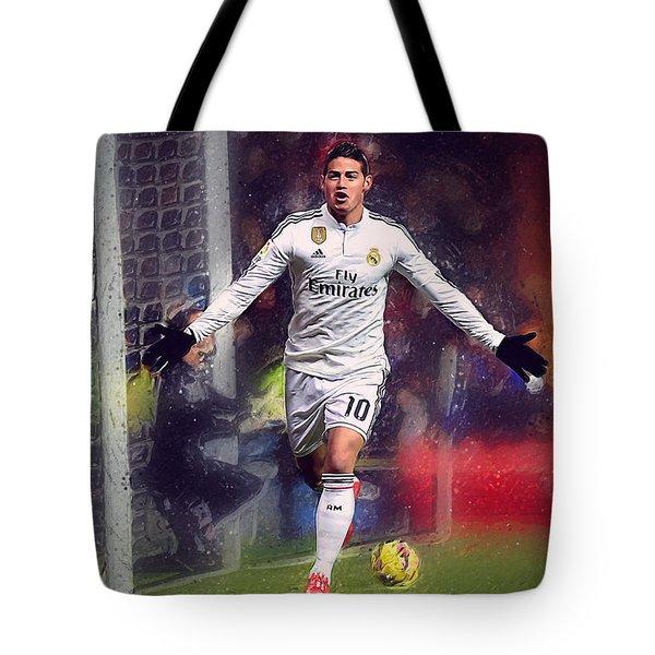 James Rodrigez Tote Bag