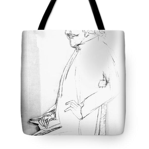 James Whistler's Portrait Tote Bag