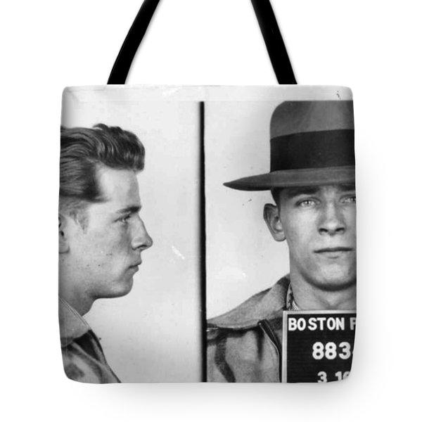 James Whitey Bulger Mug Shot 1953 Horizontal Tote Bag
