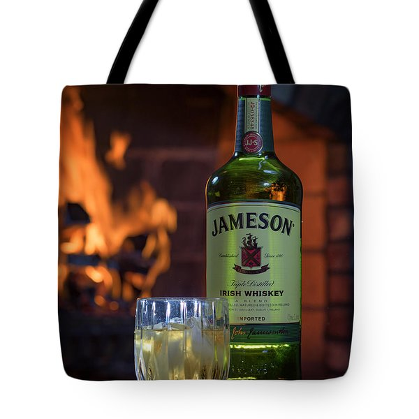 Jameson By The Fire Tote Bag