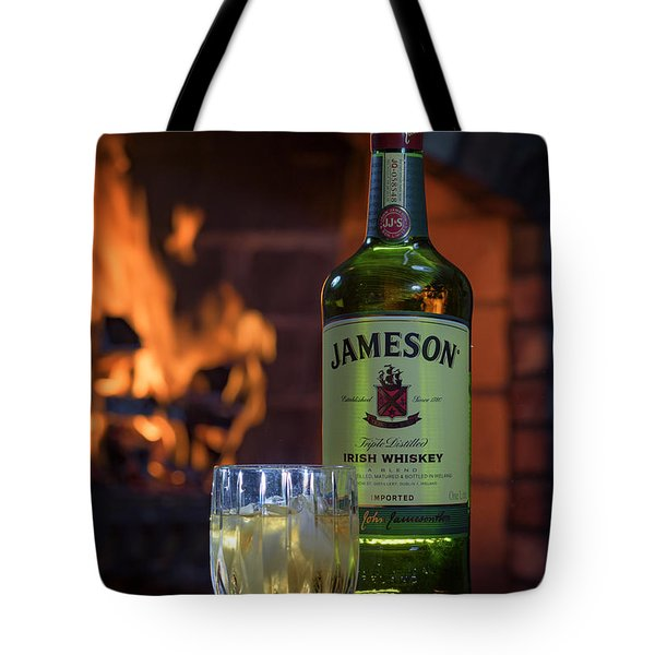 Jameson By The Fire Tote Bag by Rick Berk