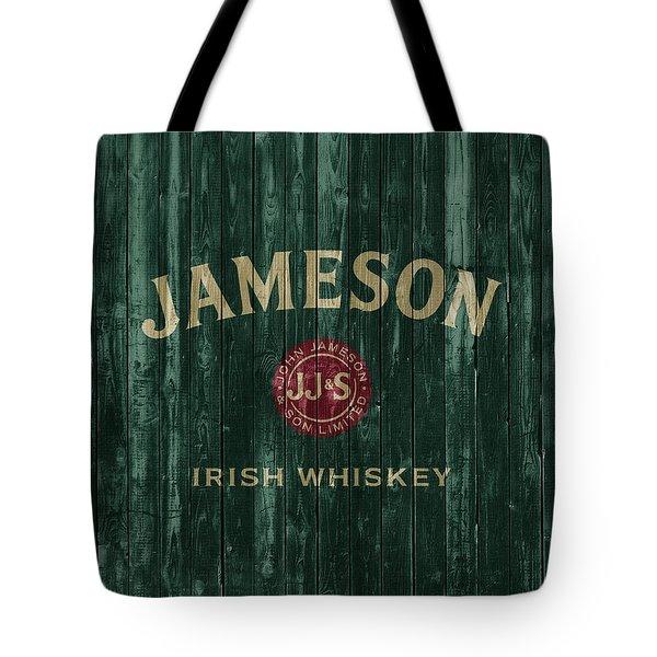 Jameson Irish Whiskey Barn Door Tote Bag