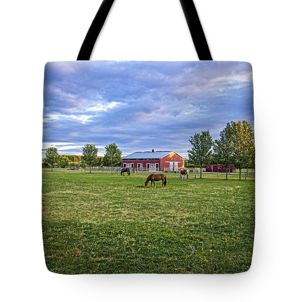 Jamesport Saddle Club Tote Bag